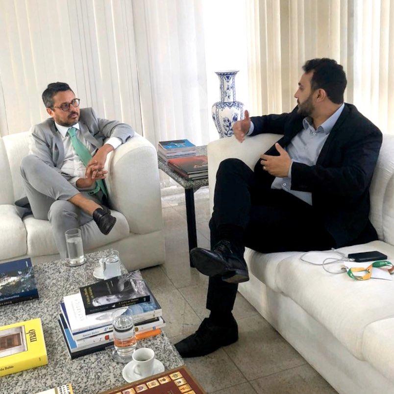 Dr. Yglésio é recebido pelo Secretário de Turismo da Bahia