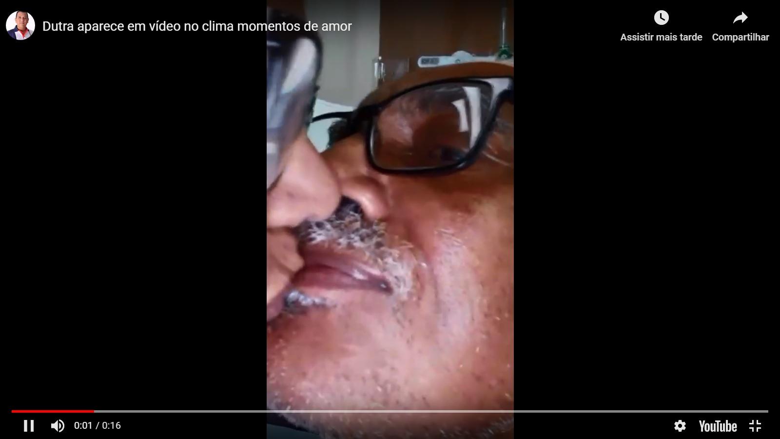 Paço do Lumiar: Núbia Dutra divulga (novo) vídeo aos beijos com Domingos Dutra