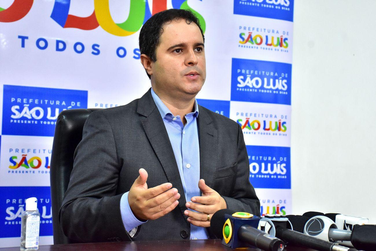 Prefeito de São Luís é contra prolongar mandato por conta do COVID-19