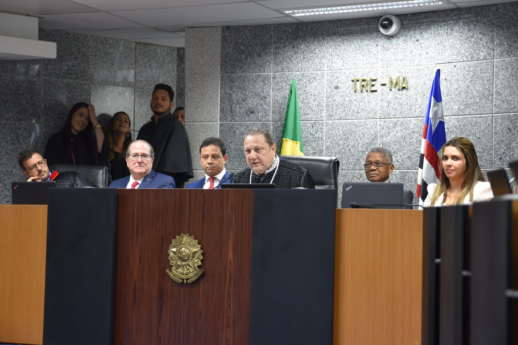 Presidente do TRE se reúne com juízes eleitorais para falar das Eleições 2020