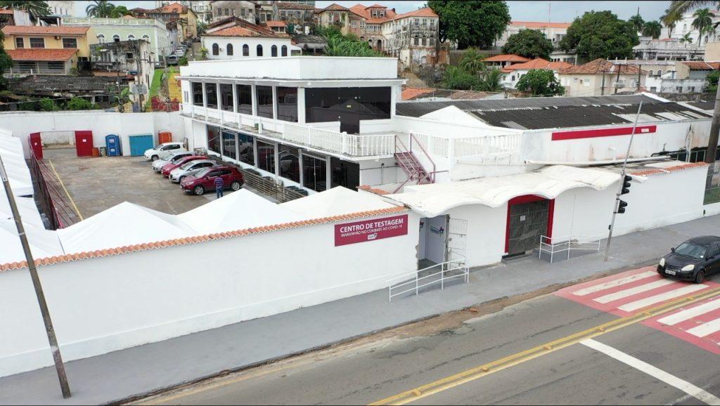 Centro de Testagem da Beira-Mar vai atender só profissional de saúde e da segurança