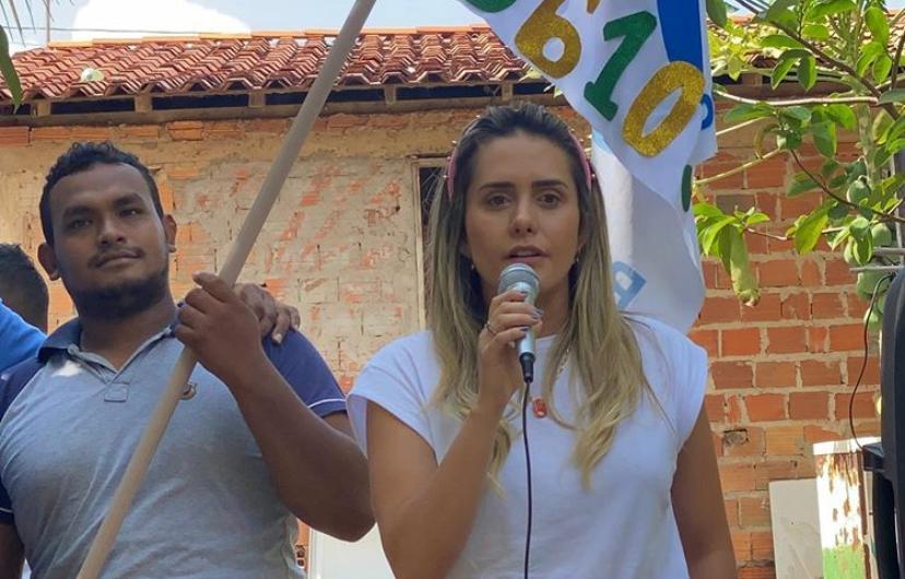 Laís Alencar entra com tudo na eleição
