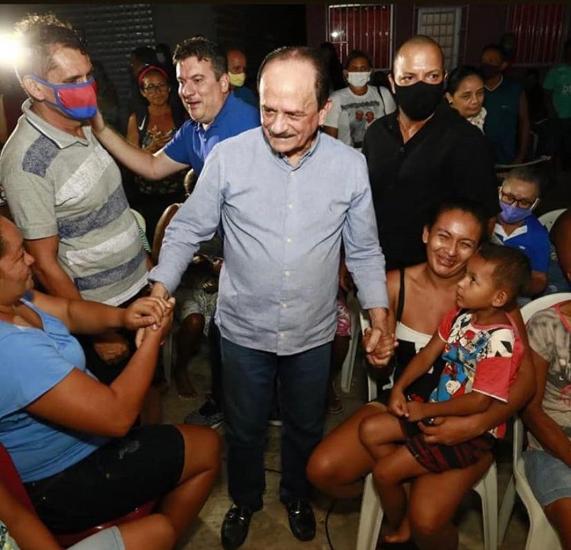 Em clima de vitória, Dr. Julinho é recebido de braços abertos pelos moradores do Residencial Turíuba, em São José de Ribamar