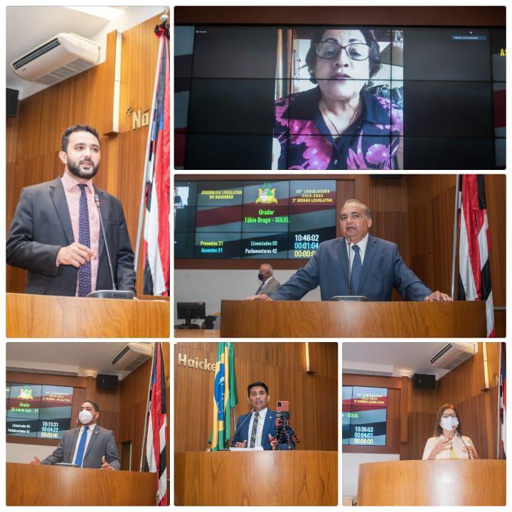 Deputados prestam homenagem aos servidores públicos do Maranhão