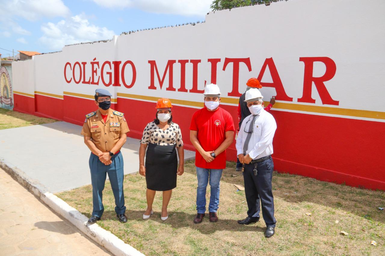 Prefeitura de Paço do Lumiar anuncia Colégio Militar no Paranã e inaugura mais uma Unidade Básica
