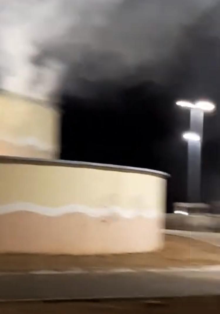 Vídeo: Fogo no monumento a São José revela completo abandono em Ribamar