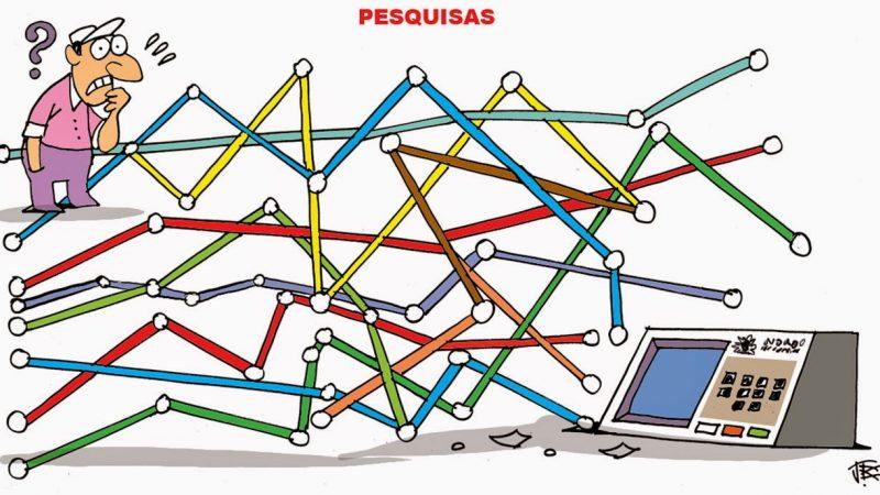 Guerra de pesquisas na reta final do segundo turno em São Luís