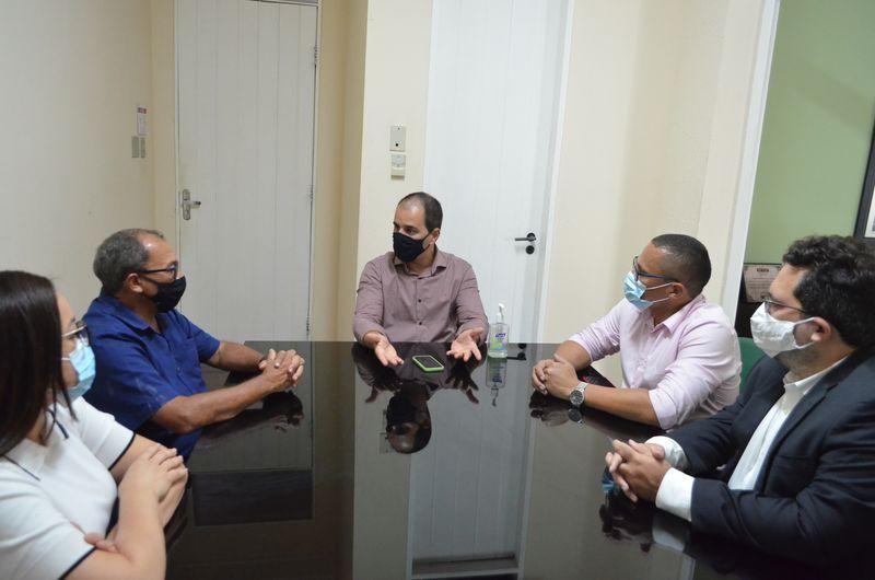 Defensoria Pública recebe gestor de Governador Nunes Freire; DPE entregará novo núcleo regional