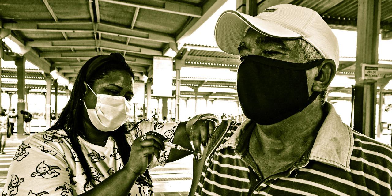 Calendário: vacinas H1N1 nos terminais de integração de São Luís